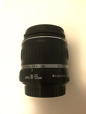 Canon lens 18-55mm for Sale in Charlotte, NC