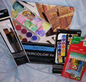 Masters Touch Fine Art Studio Watercolor Set NEW for Sale in Burien, WA