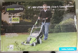 Electric Lawn mower Greenworks Model 25223 for Sale in Corona, CA