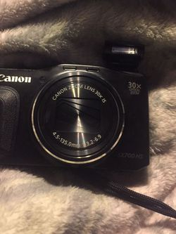 Canon PowerShot SX700 HS WiFi digital camera, Comes With case, sd card, And battery for Sale in Waco,  TX