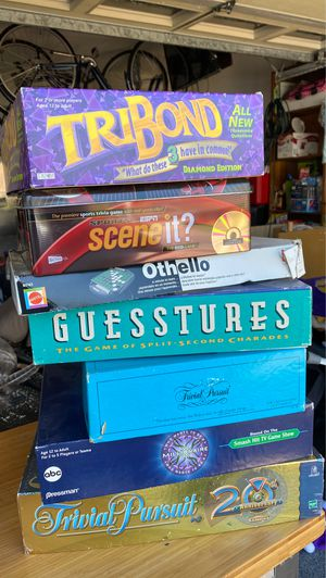 Misc Board games for Sale in Bonita, CA
