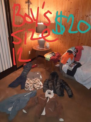 Boys size 12 clothing lot good condition for Sale in Saint Thomas, PA