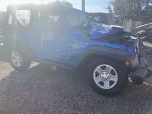 2015 Jeep Wrangler parts jk sport for Sale in Los Angeles, CA
