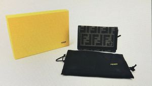 FENDI AUTHENTIC ZUCCA TOBACCO WALLET SMALL for Sale in Los Angeles, CA