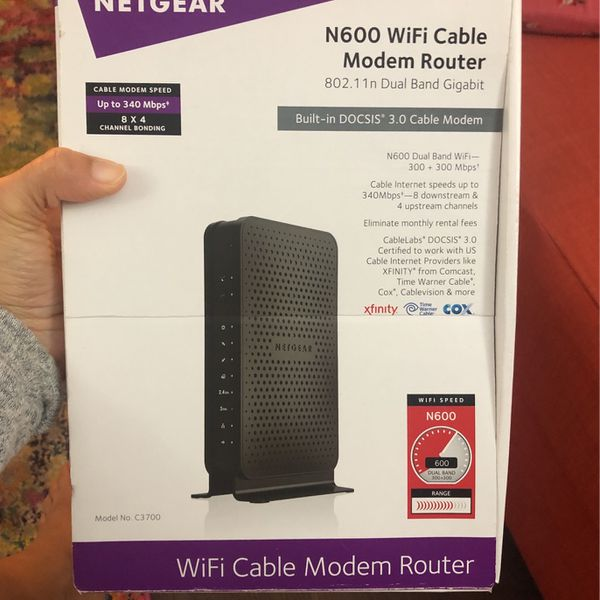 Nethear N600 Cable Modem Router