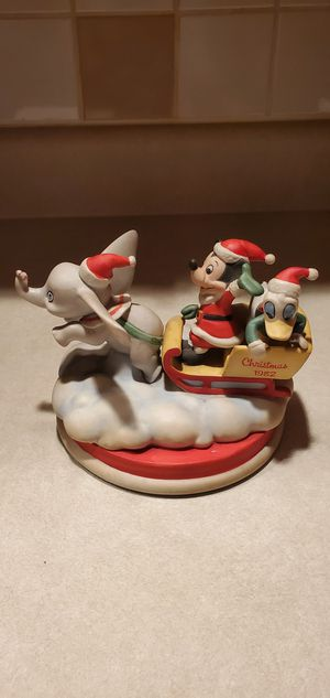 Disney 1982 Dumbo, Mickey, & Donald forth limited edition Christmas collection. for Sale in Delanco, NJ
