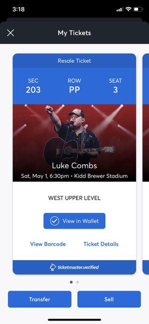 Luke Combs!!! for Sale in Smithfield, NC
