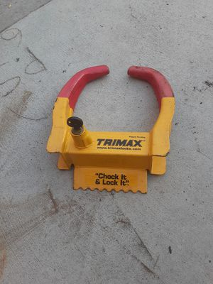 Trailer lock for sale for Sale in San Marcos, CA
