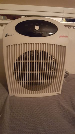 ♨️Sunbeam 1touch HEATER♨️ for Sale in Las Vegas, NV