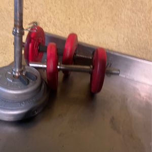 3 DUMBELS CHEAP for Sale in Whittier, CA