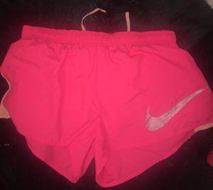 Women's Nike pink Dri-fit running shorts for Sale in Ashburn, VA