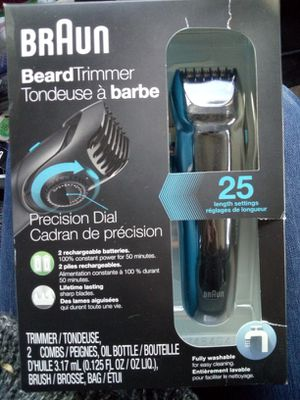 Braun beard trimmer BT5050 for Sale in Anchorage, AK