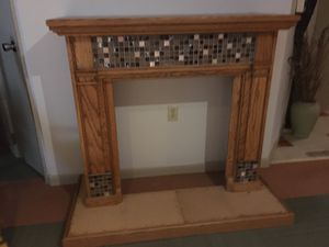 Oak Fireplace Mantel Surround for Sale in Selinsgrove, PA