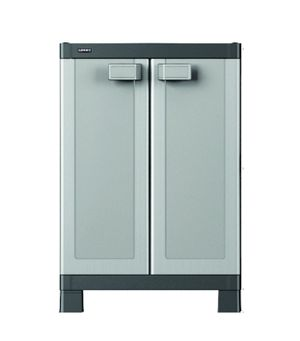 HART Base Cabinet, Resin Storage and Organization, Black with Blue Accents for Sale in Clayton, NC