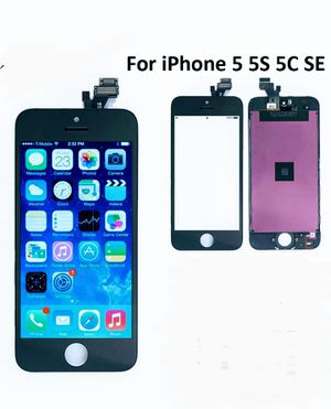 Iphone 5, 5c, 5s, SE lcd Digitizer screen replacement for Sale in Kings Mountain, NC