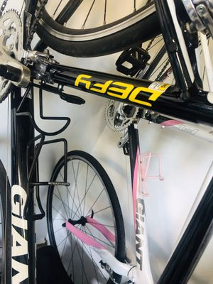 Giant Defy Aluxx SL 6000 series large bike black and yellow, $500.00 for Sale in Denver, CO