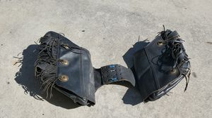 Saddle bags off of old school softtail harley..will fit many makes and models for Sale in Port St. Lucie, FL