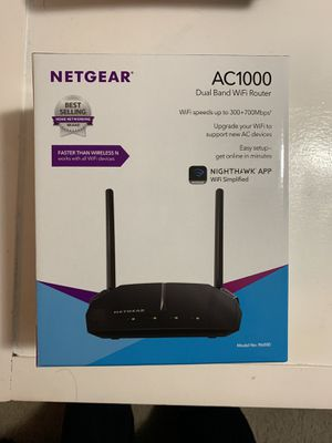 NetGear AC1000 dual band WiFi router for Sale in Columbus, OH