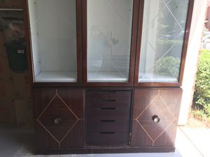 Cherry China cabinet for Sale in Woodstock, GA