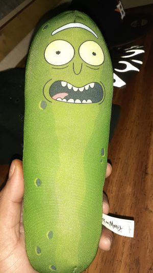 PICKLE RICK Stuffed animal !very rare! for Sale in Houston, TX