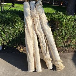 Roll5 Rolls of Assorted Upholstery Material. Approx 20-30 Yards for Sale in Redwood City,  CA