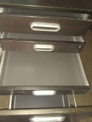 Two solid wood filing cabinets with 4 drawers for Sale in Phoenix, AZ