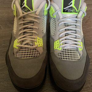 Jordan 4 Neon for Sale in Hartford, CT