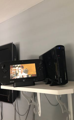 Wii U *with 3 games* for Sale in Port Jefferson Station, NY