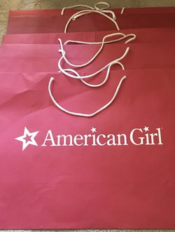 American Girl Shopping Bags Medium Size for Sale in Los Angeles,  CA