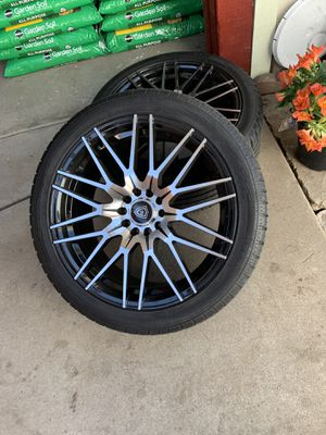 "Brand New Never Used 18"" Nokian Tires with Brand New Wrapped sealed Luxurious 18"" Rims for Sale in Richmond, CA"