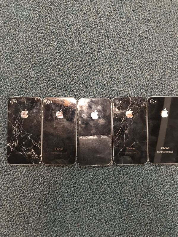 iPhone 4s All cracked phone lot
