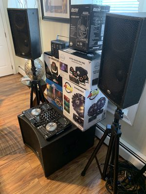 DJ EQUIPMENT for Sale in Cumberland, RI