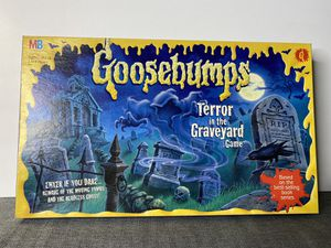 Goosebumps Terror in the Graveyard Board Game Milton Bradley 1995 Complete for Sale in Sacramento, CA