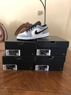 Jordan 1 low smoke grey for Sale in Santa Ana, CA