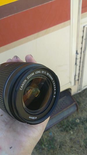 Canon Zoom Lense EF-S 18-55mm for Sale in Seattle, WA