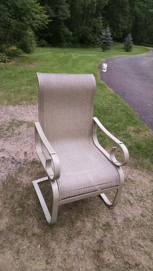 Outdoor patio chairs reduced to $90 for Sale in Nisswa, MN