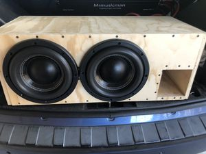 Mrmusicman HO -10 inch subs in ported box for Sale in Tempe, AZ