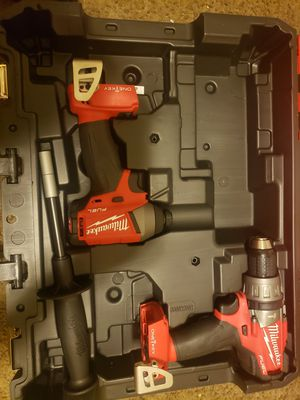 Milwaukee M18 Fuel Brushless One Key Hammer Drill Driver and Impact Driver for Sale in Downey, CA
