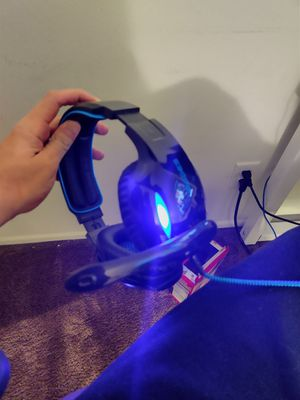 Sades wired PC Headset USb for Sale in Riverside, CA