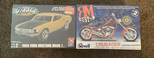 Mustang & revell crusader NO LOW BALLING for Sale in Lakewood, CA