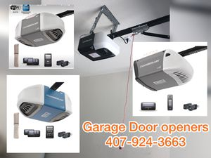Garage doors and openers new for Sale in Orlando, FL