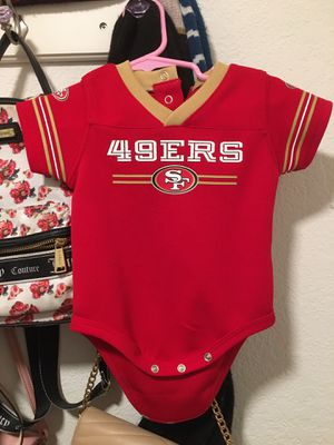 49ers baby onesie for Sale in Fresno, CA