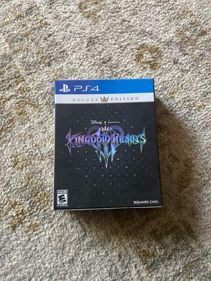 Kingdom hearts 3 deluxe edition for Sale in Escondido, CA