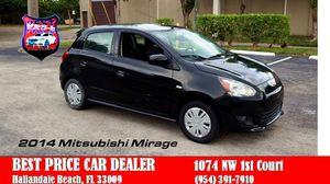2014 Mitsubishi Mirage for Sale in Hallandale Beach, FL