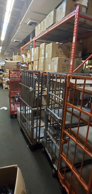 Storage cages on wheels. Excellent to move around heavy parts and equipment. for Sale in Hialeah, FL