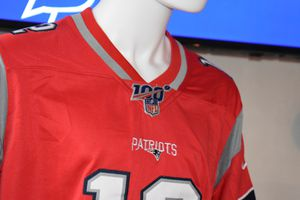 Patriots jerseys 100th .pick up or ship for Sale in Boston, MA