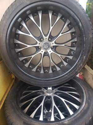 "Lorenzo Rim 22"" Lexany tires 265/40/R22 for Sale in Laurel, MD"