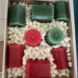 Homemade Christmas decorations candles for Sale in Fort Lauderdale, FL