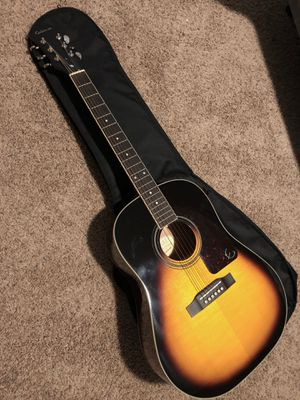 Epiphone acoustic guitar for Sale in Pekin, IL