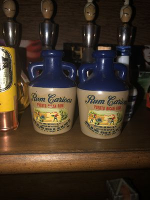 2 Vintage Puerto Rican Rum Airline Liquor bottles (Negotiable) for Sale in HOFFMAN EST, IL